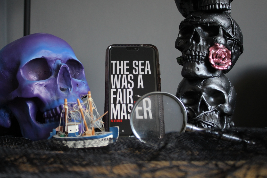 skulls short story collection horror calvin demmer south african horror the seas was a fair master